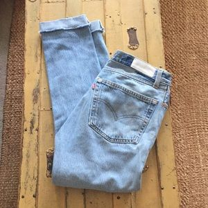 REVOLVE RE/DONE LEVIS 501 JEANS SKINNY STRAIGHT 27
